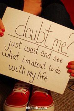 Doubt Me............??