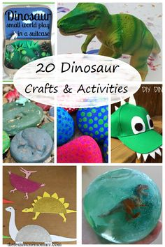 20 dinosaur crafts and activities