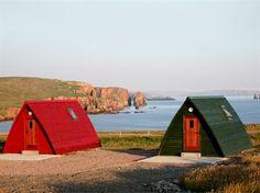 Braewick Wigwams, Shetland Islands. We've got our night booked!