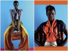 Colour  Damon Fourie clicou Kate Menson para a edição de maio da Elle South Africa, confira o editorial.