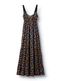 Fern Floral Maxi Dress