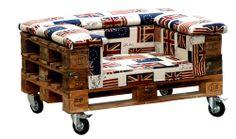 Un esempio di re-use: dai bancali in legno dismessi nasce una poltrona su ruote dal sapore british. Prodotta da Dialma Brown, la struttura l...