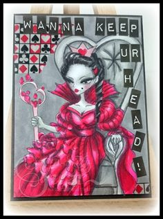 The Manic World of Mrs McKenzie: Wicked Wednesday ATC Challenge #155: CASE a DT Member!