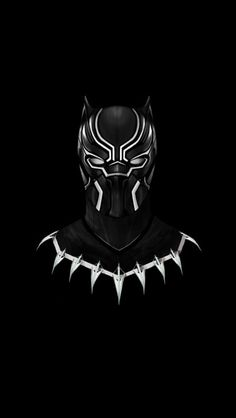Black Panther Dark iPhone Wallpaper