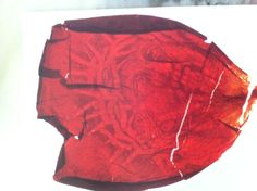 Rose petal which landed on Maureen Marolly at Marmora at the 14th Station of the Cross on September 5, 1996.