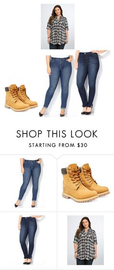 """""""idk"""" by ttp-bn-mrs-perez ❤ liked on Polyvore featuring мода, Avenue, Timberland и Torrid"""