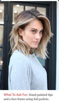 contouren #blond #Tendenz