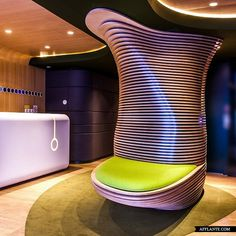 Contemporary Hotel O In Paris // Ora-Ito | Afflante.com
