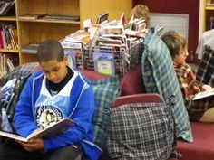 """""""Projects to Engage Middle School Readers"""" article from Edutopia - includes book report alternatives that could be adapted for different ages"""