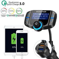 Dans le bon plan de ce jour, on vous propose un produit pour la voiture pour tous ceux qui n'ont pas d'autoradio Bluetooth: un transmetteur FM Bluetooth de la marque Abox.  Lien d'achat : Transmetteur FM Bluetooth, ABOX. Oui c'est vrai, de plus en plus de voitures sont désormais équipées ... https://www.planet-sansfil.com/plan-transmetteur-fm-bluetooth-voiture-abox-a-22e-lieu-de-119e/ ABOX., automobile, Bluetooth, Bon Plan, sans fil, Transmetteur FM, Wire