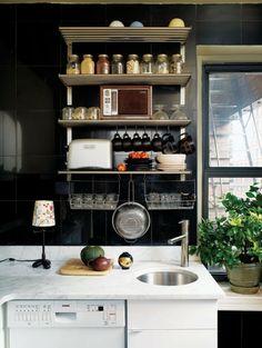 Comment amenager une petite cuisine ? - amenagement-petite-cuisine-esace-equipée