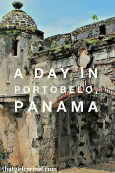Portobelo, Panama in Colon