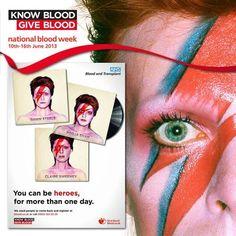 Bowie y sangre