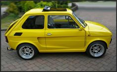 # 126 – Paulo Neris – Join the world of pin Fiat 500, Homemade Go Kart, Morris Minor, Fiat Abarth, Yellow Car, Classy Cars, Steyr, Modified Cars, Small Cars