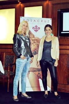 Carla Czudnowsky y María Freytes estuvieron presentes en el evento lanzamiento de la marca de trajes de baño Rosacruz, en el Meliá Hotel Boutique.