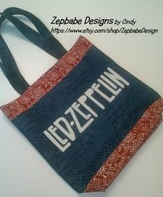Led Zeppelin Tote Bag https://www.etsy.com/listing/173907290/led-zeppelin-denim-tote-bag?ref=shop_home_active