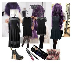 """What to Wear with Purple Hair"" by vic-mazonas ❤ liked on Polyvore featuring City Chic, Forlife and Joe Browns"