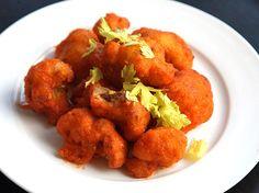 Crispy Buffalo Fried Cauliflower (Vegan)