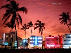 South Beach, Miami. ❤