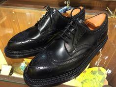 J.M.WESTON(ジェイエムウエストン ) 「クラシック トリプルソール ウィングチップ ダービー 」クラシック トリプルソール ウィングチップ ダービー  : 銀座三越7F シューケア&リペア工房<紳士靴・婦人靴・バッグ・鞄の修理&ケア>