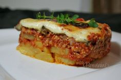 Musaka Musaka, Greek Recipes, Meatloaf, Lasagna, Sandwiches, Menu, Dinner, Cooking, Ethnic Recipes
