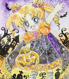 Sailor Moon Drops, Sailor Moon Girls, Arte Sailor Moon, Sailor Moon Stars, Sailor Moon Usagi, Sailor Moon Crystal, Sailor Moon Halloween, Candy Y Terry, Moon Sketches