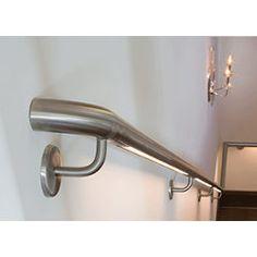Best Modern Wall Mounted Handrail Iron Stairs Pinterest 400 x 300