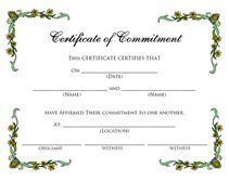 printable blank certificate of commitment pdf Renewal Of Marriage Vows, Vow Renewal Ceremony, Wedding Ceremony, Printable Certificates, Certificate Templates, Blank Certificate, Wedding Certificate, Marriage Certificate, Marriage Records