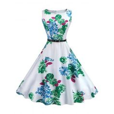 SHARE & Get it FREE | Vintage Sleeveless Printed Fit and Flare DressFor Fashion Lovers only:80,000+ Items·FREE SHIPPING Join Dresslily: Get YOUR $50 NOW!