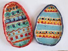 Keramická vajíčka. Pot Holders, Hot Pads, Potholders, Planters