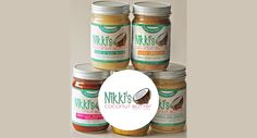 NIKKI'S COCONUT BUTTER MIX PACK - 4 JARS by NIKKI'S COCONUT BUTTER on @UDKitchen http://undiscoveredkitchen.com a digital farmers' market for specialty, small batch food!