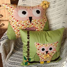 ALALOSHA: VOGUE ENFANTS: Owls handmade!