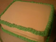 Grandma Bonnie's Closet: Simple Cake Decorating Tip: Smoothing Butter Cream Icing