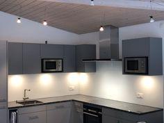 Weissglas 6mm Satiniert Track Lighting, Kitchen Cabinets, Ceiling Lights, Home Decor, Decoration Home, Room Decor, Cabinets, Outdoor Ceiling Lights, Home Interior Design