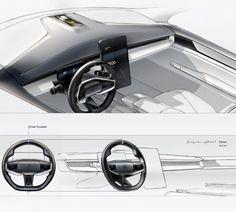 Polestar Precept Interior on Behance Car Interior Sketch, Car Interior Design, Car Design Sketch, Interior Rendering, Interior Concept, Car Sketch, Automotive Design, Pole Star, Transportation Design