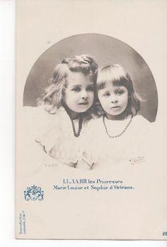 Vintage Postcard Princess Marie Louise Sophie D'Orleans   eBay