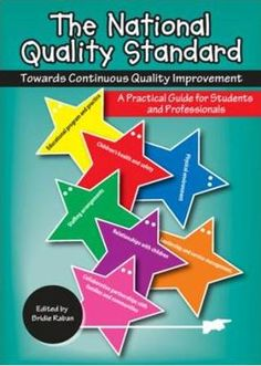 The National Quality Standard: Towards Continuous Quality Improvement. This practical guide for students and professionals assists early childhood educators, in whatever setting or service, to identify short, medium and long term goals for development of their services towards meeting the requirements of the National Quality Standard through the development of Quality Improvement Plans. Located in our Child Studies collection at 371.1204/NATI #NQS #childcare