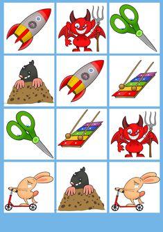 B típus 4. oldal - Kivágható kártyás memória játék állatokkal Hobbit, Playing Cards, Games, Teak, Playing Card Games, Gaming, The Hobbit, Game Cards, Plays