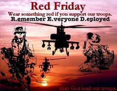 RED FRIDAY! Until They All Come Home! #remembereveryonedeployed #redfriday #militarylife #supportourtroops #military #armylife #militarywife #armygirlfriend #armywife #militarywife #armystrong #army #navy #marines #airforce #nationalguard #veteranslivesmatter #veterans #veteran #letnoherobeforgotten