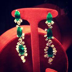 Emeralds and diamonds by Chopard  #jewelry #earrings #chopard #marilynmonroe #fashion #fashionblogger #style #beautiful #precious #loveit #instadaily - @daria_kunilovskaya- #webstagram