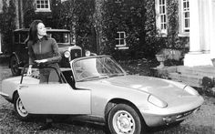 Lotus Elan, The Avengers The divine Emma Peel had a penchant for convertible Elans, the perfectly proportioned roadster launched in 1962. The black-and-white episodes featured an S2, with the famous powder blue S3 taking over in 1967 Picture: REX FEATURES