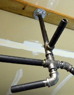 In addition, stationary bikes have a lower opportunity of hurting joints and ligaments than other devices options such as a treadmill or stair climber. With the lower effect on joints, this tool is great for individuals with joint issues. Home Made Gym, Diy Home Gym, Diy Pull Up Bar, Diy Bar, Basement Gym, Garage Gym, Garage Pull Up Bar, Diy Gym Equipment, No Equipment Workout