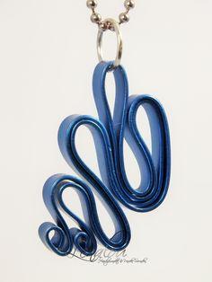 aluminum pendant blue