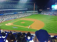 THINK BLUE: Go dodgers #baseball #ladodgers by jasmine_zblewska