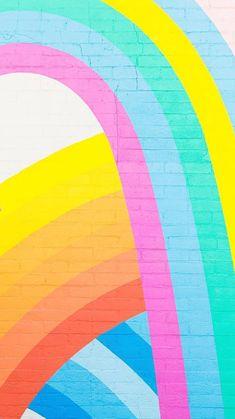 Cute Wallpaper Backgrounds, Rainbow Wallpaper, Screen Wallpaper, Pattern Wallpaper, Cute Wallpapers, Iphone Wallpaper, Collage Background, Wall Collage, Wall Art