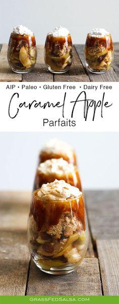 AIP Caramel Apple Parfaits