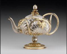 omgthatartifact: Teapot France, 1842-1848 The Nelson-Atkins Museum of Art (via trinkets-treasures-n-treats)