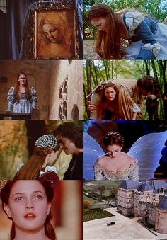 "Ever After ...luv the part ""you may take anything you can carry, anything"" n she walks off with the prince :)"