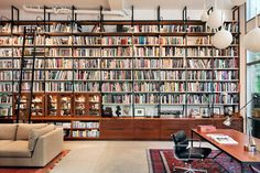 Brooklyn Warehouse Loft Tranformed to an Artist's Studio (I love books. I need a place for my books SC)