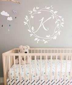 Custom Monogram Wall Decals Nursery Wall Name Decal Personalized Vinyl Wall  Monogram Nursery Monogram Decal Nursery Part 75